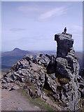 NN2505 : Summit of The Cobbler.  Gaelic: Beinn Artair 884m by Alan Murray Walsh