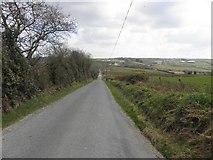 C1316 : Road at Gortalabin by Kenneth  Allen