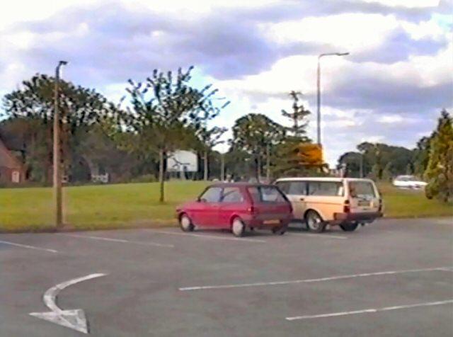 The Fleece car park