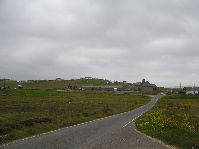View towards Cready Knowe, Whalsay