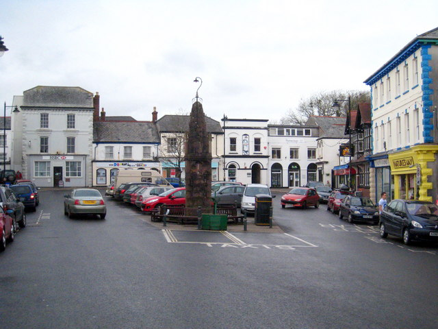 The Square in Holsworthy