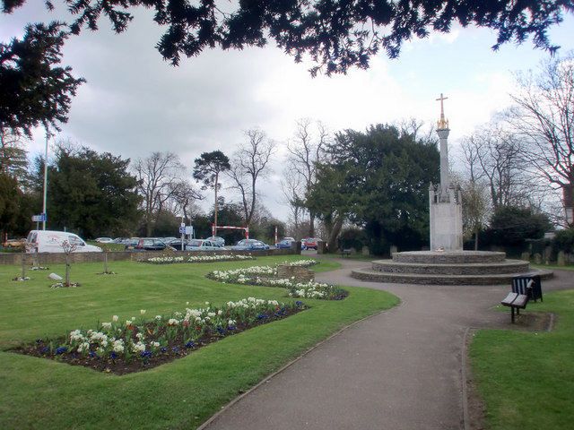 War Memorial, High Street, Potters Bar, Hertfordshire