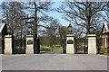NZ4224 : Golden Gates on Wynyard Road by Philip Barker