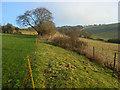 SU4256 : Farmland, Ashmansworth by Andrew Smith