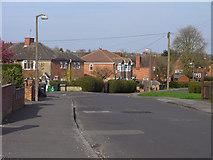 SU5067 : Roman Way, Thatcham by Andrew Smith