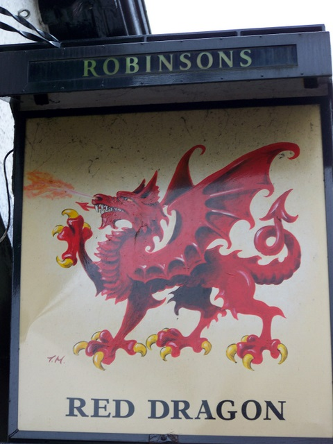 Sign for the Red Dragon