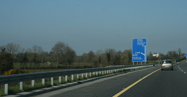 The M6 Moate, County Westmeath