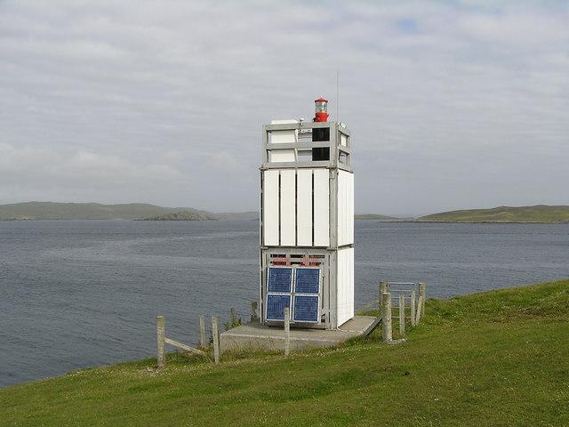 Symbister Ness lighthouse