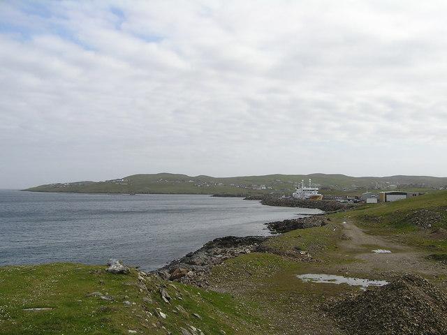 Coastline at Symbister