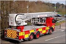 J3269 : Fire appliance, Minnowburn, Belfast (2) by Albert Bridge
