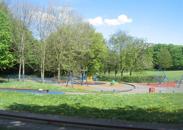 Play area near Pershore Road by Sandy B