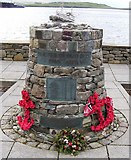 HU4039 : Shetland Bus Memorial by Robbie