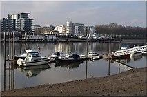 TQ2575 : Broomhouse Dock by Derek Harper