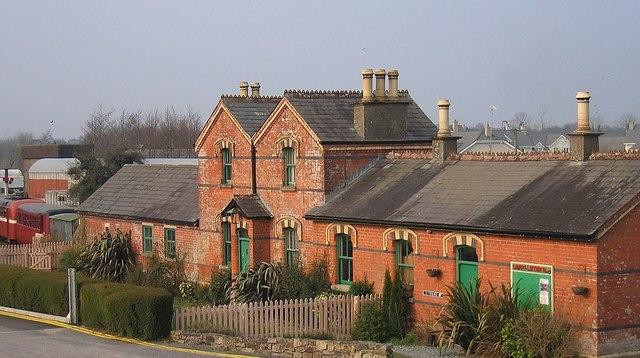 Station House of the Cavan - Leitrim Railway, County Leitrim
