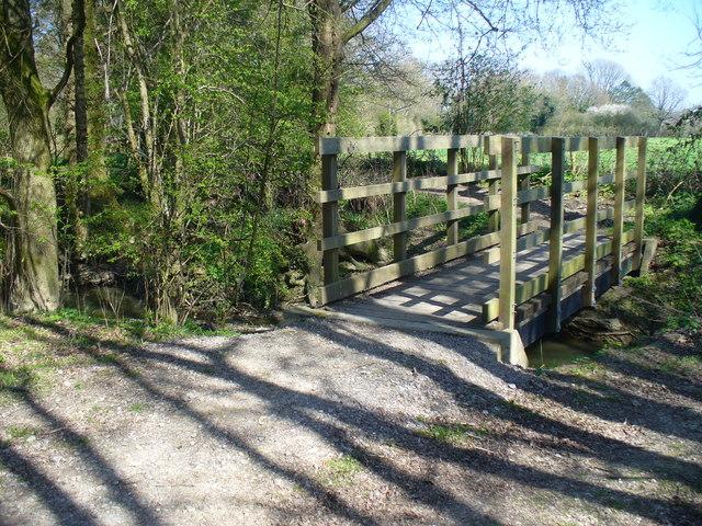 Footbridge over the River Mole