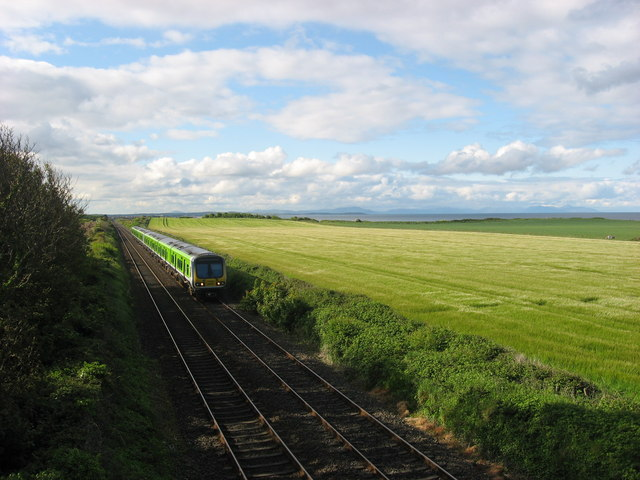 Train at Irishtown, Co. Meath