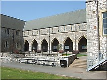 SX9392 : North Cloister, St Luke's campus, University of Exeter by David Smith