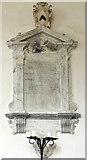 TF9624 : St Helen, Gateley, Norfolk - Wall monument by John Salmon