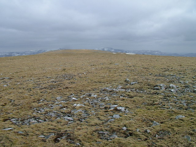 Eastern plateau of An Sgarsoch