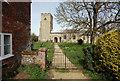 TF9624 : St Helen, Gateley, Norfolk by John Salmon