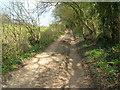 ST7360 : Byway above Fortnight Farm by James Ayres