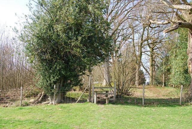 Stile, High Weald Landscape Trail