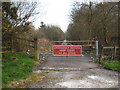 SX0864 : Emergency access on the A30 at Bodmin by Rod Allday