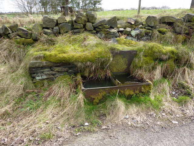 Cast iron trough on Norland Town Road