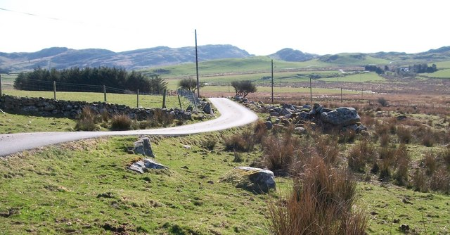 The upland road to Prenteg