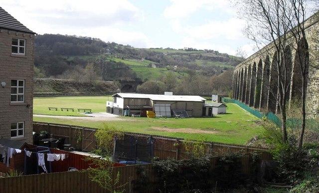 Copley Cricket Club and Copley Viaduct