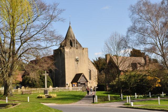 St. Bartholomew's Church, Otford,  Kent