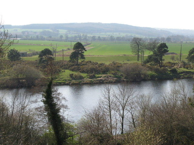 The River Tyne and Dilston Haughs