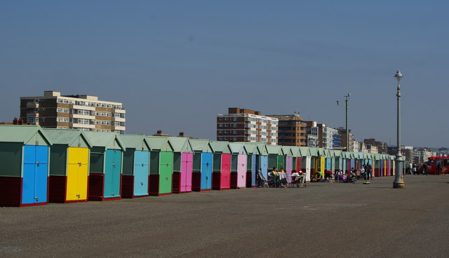Beach Huts at Hove, Sussex