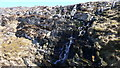 NR5788 : Waterfall at the head of Gleann nan Clach Reamhar by Peter Edwards