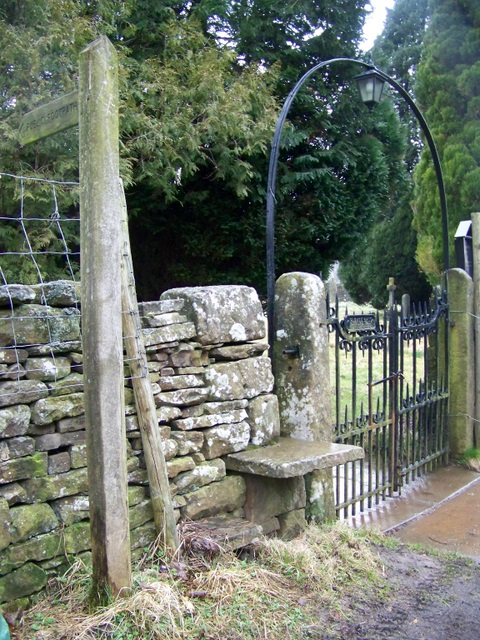 Gate, St Mary's Church, Outhgill