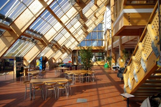 Interior of the Ecotech Centre
