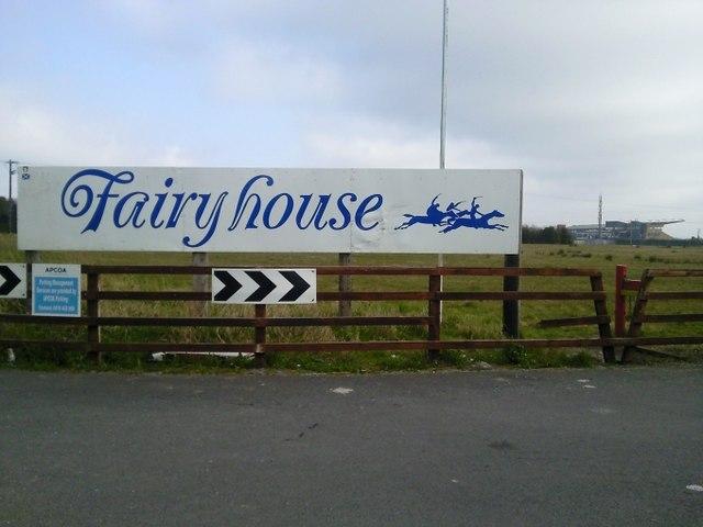 Racecourse Sign, Co Meath