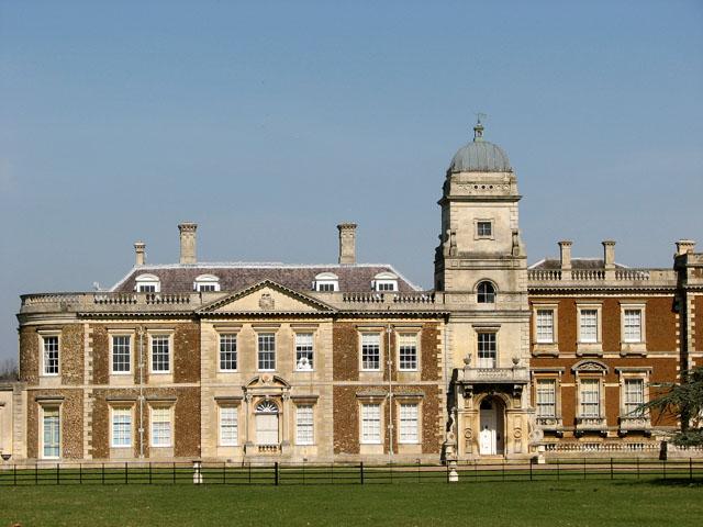 Narford Hall, the south facade (detail)