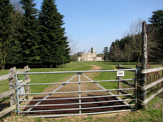 Entrance to Narford Hall