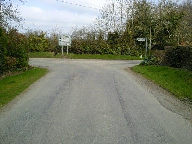 T-junction, Vesingstown, Co Meath