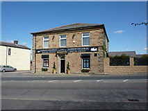 SD8131 : Former public house on Rossendale Road by Alexander P Kapp