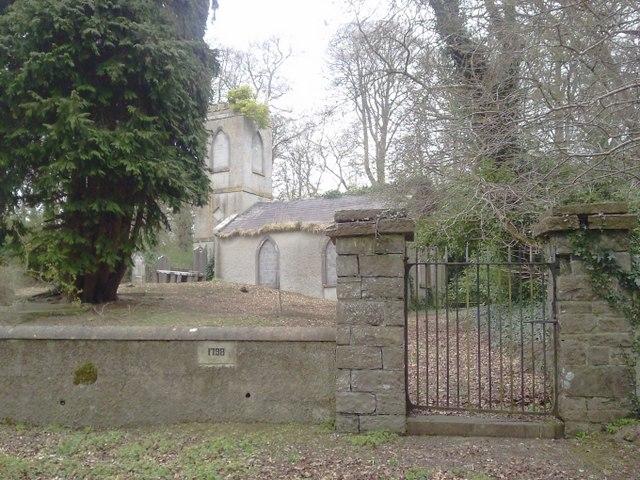 Ballymaglasson Church, Co Meath