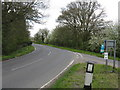 TF4308 : Barton Road at Mile Tree Lane by Peter Whatley
