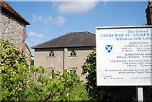 TQ5203 : United Reformed Church, Alfriston by N Chadwick