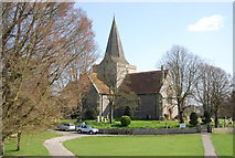 TQ5203 : St Andrew's Church, Alfriston by N Chadwick