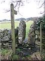 SD3880 : Stile near Field Broughton by Maigheach-gheal