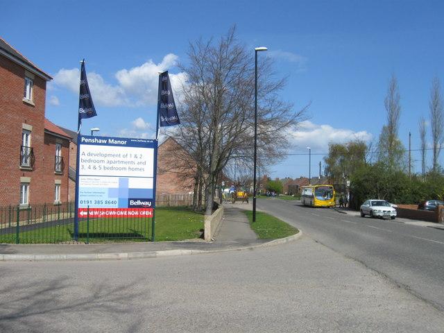Station Road, Penshaw