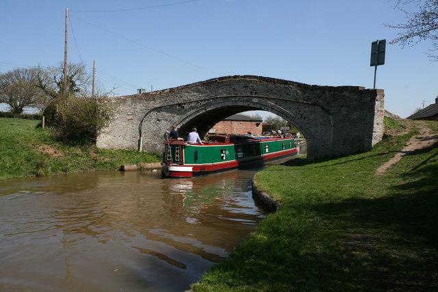 Bate's Mill Bridge (Bridge 109) Shropshire Union Canal