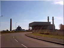 TQ8172 : Kingsnorth and Damhead Creek Power Stations, Kent by Chris Whippet