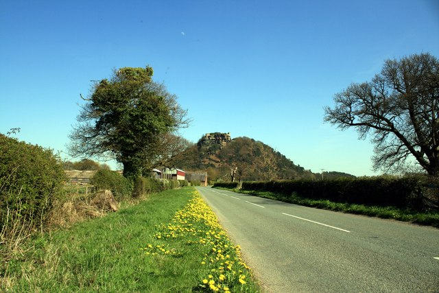 Crimes Lane towards Beeston